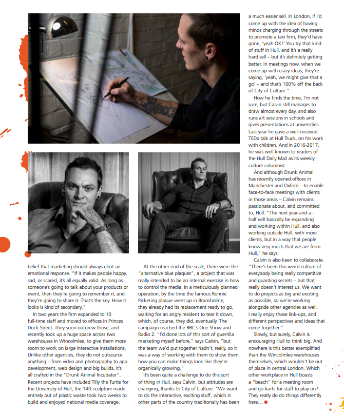 Business Works Magazine Feature